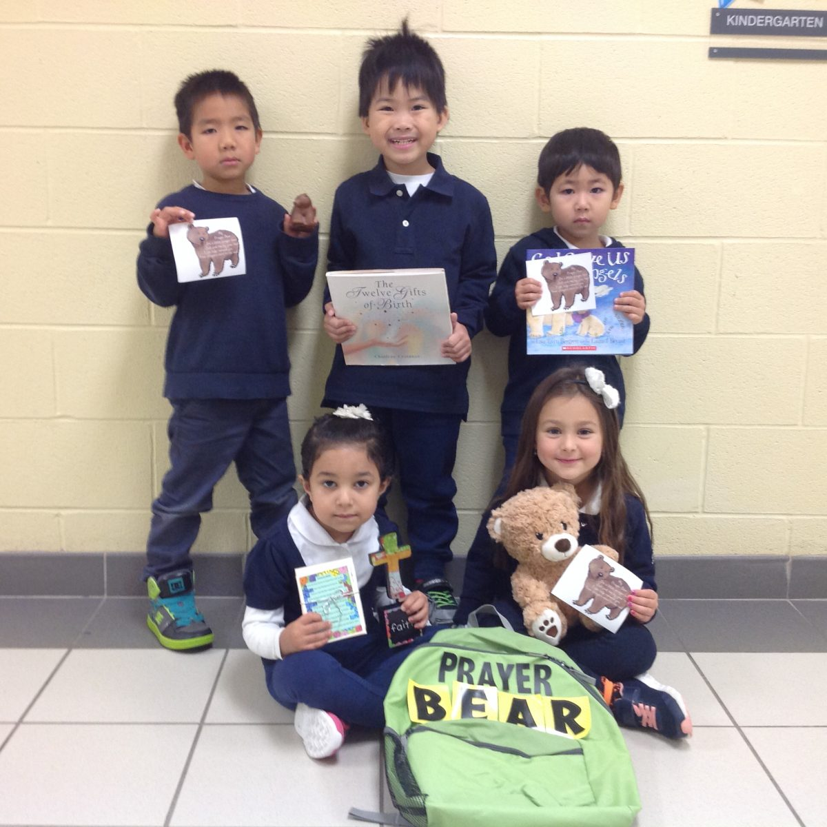Meet our FDK Prayer Bear!!