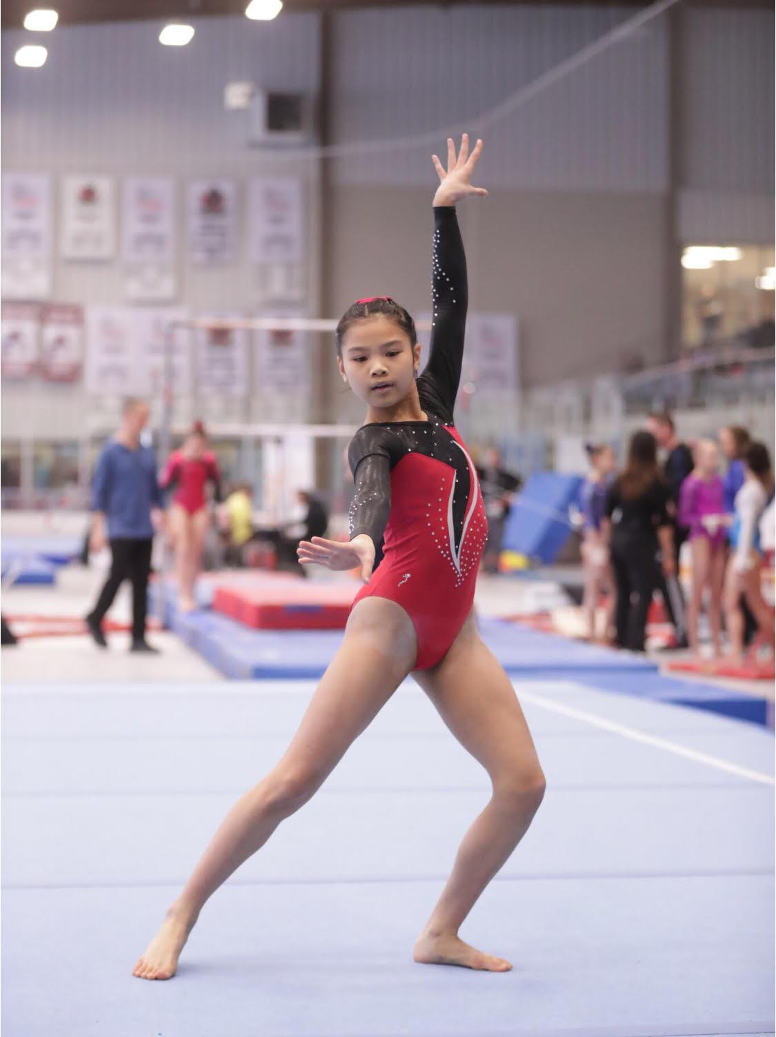 Gymnast Kyra Choy