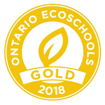 EcoSchool Certified gold